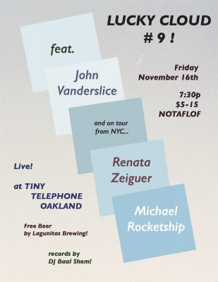 Free show this Friday at TINY TELEPHONE OAKLAND!!!