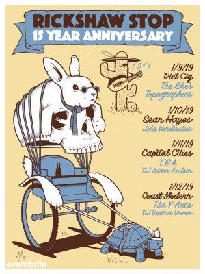 Rickshaw Stop 15 Year Anniversary