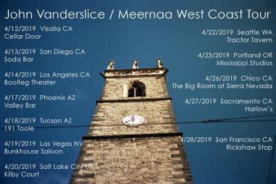 West Coast Tour with Meernaa
